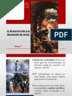 Tema 9 La Resurrección y La Ascensión de Jesús