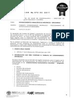 Circular No. 075-17 Consentimiento Informado Para Procedimiento de Inyectologia