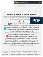 Battles of Prince of Persia Review - GameSpot