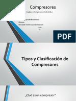 Tipos y Clasificación de Compresores- Alexander Guzman Huaman.