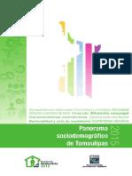 Panorama Sociodemográfico de Tamaulipas 2015