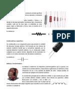 Componentes Basicos de La Electronica