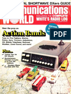 Communications World 1974 Fall Winter | Amplifier | Am