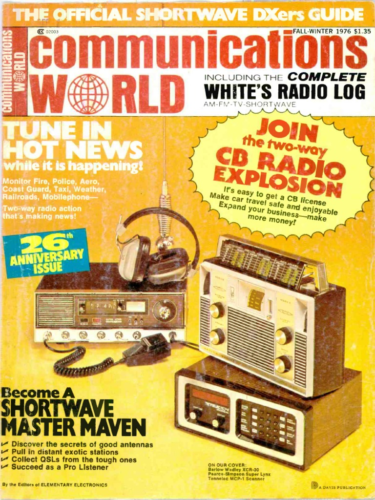 Communications World 1976 Fall Winter | Electrical Engineering
