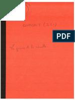 Dumont - La Peine et la révolte
