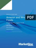Amazon and Whole Food
