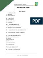 Contenido Resumen Ejecutivo Anayunga