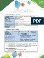Guía de Actividades y Rubrica de Evaluación Fase 1 - Principios Generales Del SINA