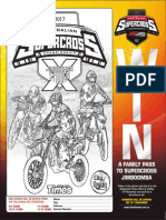 Supercross colouring competition