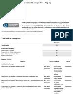Online Collaboration 1.0 Google Drive