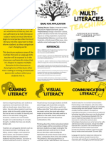 multiliteracies brochure