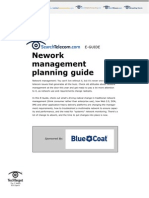 Network Management Planning Guide
