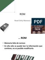 Memorias ROM