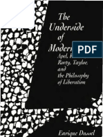 1573923966 - EnRIQUE DUSSEL - The Underside of Modernity~ Apel_ Ricoeur_ Rorty_ Taylor and the Philosophy of Liberation