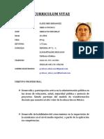 Curriculum Vitae Ulises Neri Acatzingo