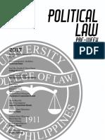 Political Law Pre Week 2017