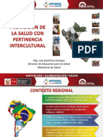 Pertinencia Intercultural Peru