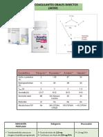 Anticoagulantes Orales Directos