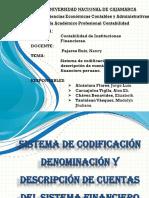 Denominacion y Clasificacion de Cuentas