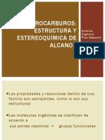 3. Estructura y Estereoquímica de Alcanos