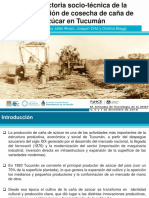 Inta Trayectoria Socio-tecnica Dela Mecanizacion Cosecha Cana de Azucar Tucuman Ppt