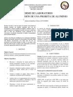 Informe Torsión Aluminio