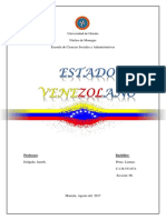 Que Es El Estado Venezolano