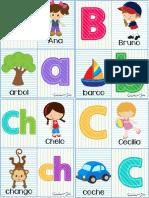 abecedario para preescolar