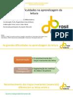 As grandes dificuldades na aprendizagem da leitura.pdf