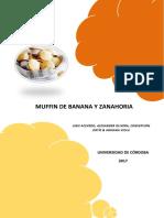 Muffin de Banana y Zanahoria