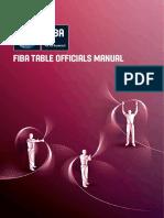 FIBA TABLE OFFICIALs MANUAL