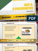 2. Food Preservation