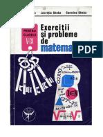 Grigore Gheba Culegere Matematica Clasele v IX Veche
