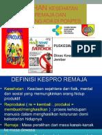 Materi Penyuluhan Pokja 3 Poskestren (