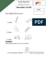 Exam English Ce2