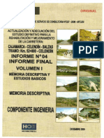 01 Vol I Memoria Descriptiva