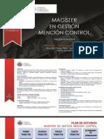 Magíster en Gestión mención Control - Valparaíso _ Santiago - 2018
