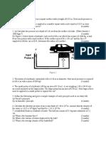 Tutorial 2 Hydrostatics 1