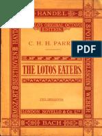 Parry-The Lotos Eaters.pdf