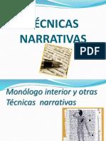 Técnicas narrativas.ppt