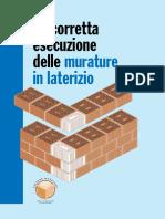 La Corretta Esecuzione Delle Murature in Laterizio