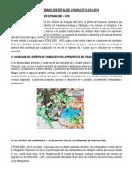 Plan Urbano Distrital de Characato 2013