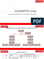 Planeamiento 2016-Gestión de Residuos Tratamiento de Agua Ccds