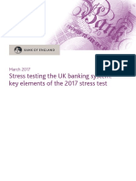 Key Elements - Stress Testing Bank of England