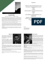 Programa y Reseñas 2017 - Acuarela Dúo