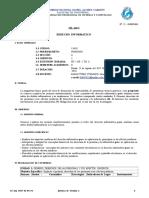 Silabus Derecho Informatico