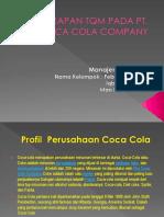 Penerapan Tqm Pada Pt Coca Cola