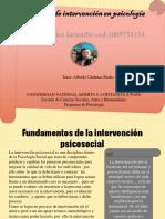 Modelos de Intervención en Psicología