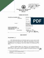 Pilipinas Makro, Inc. vs. Coco Charcoal Philippines, Inc. and Lim Kim San G.R. No. 196419.