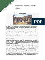 Informe de Construcion de Un Puente de Espagueti